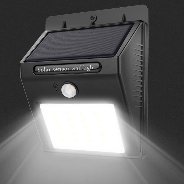 Solar Sensor Wall LED Light / Lampu Tenaga Surya Matahari