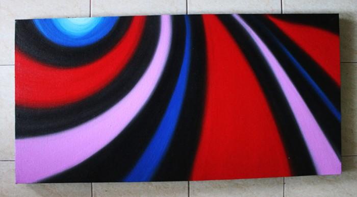 Jual Lukisan Dekoratif Abstrak H