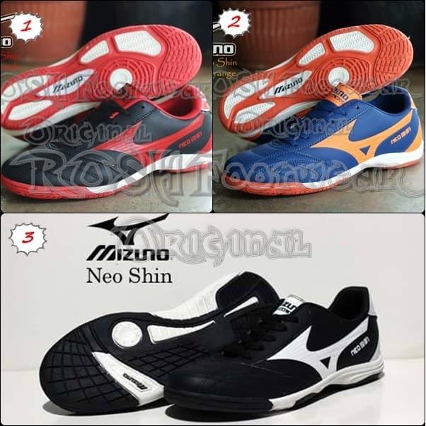 Jual Sepatu Mizuno Neo Shin Futsal Pria - ROSH Footwear  65645101f6