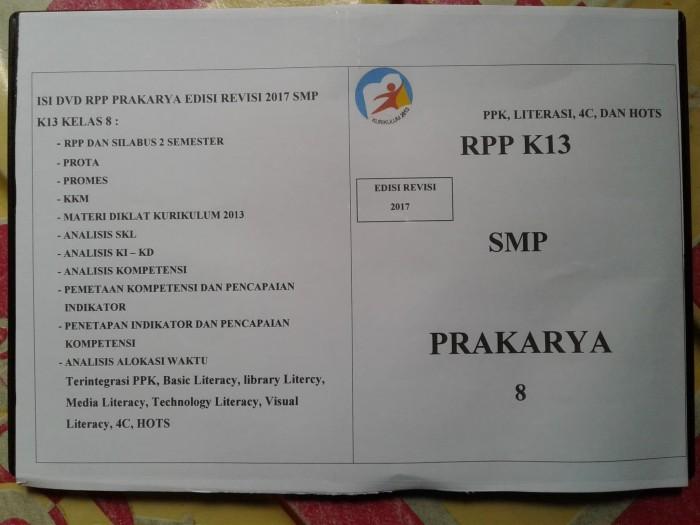 Jual Dvd Rpp K13 Revisi 2017 Prakarya Kelas 8 Kab Majalengka Mediailmu22 Tokopedia