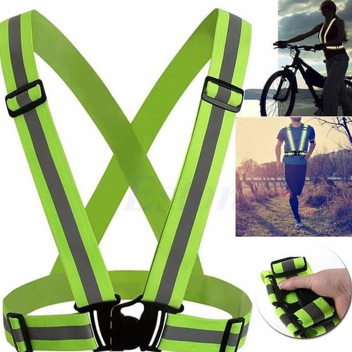 harga Robesbon rompi sepeda dan joging dapat terang dimalam hari Tokopedia.com