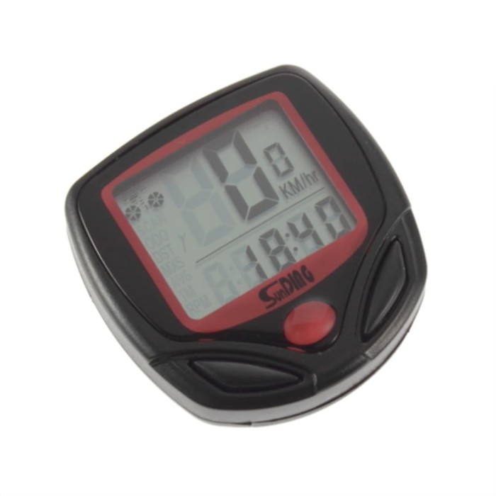 harga Speedometer sepeda 14 function lcd display bicycle - black Tokopedia.com