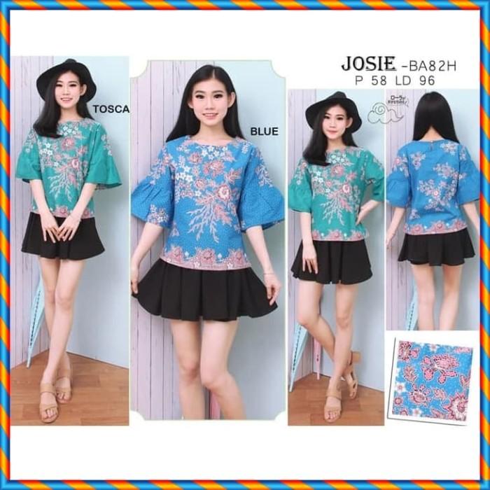 harga Blouse batik baju atasan batik wanita josie Tokopedia.com