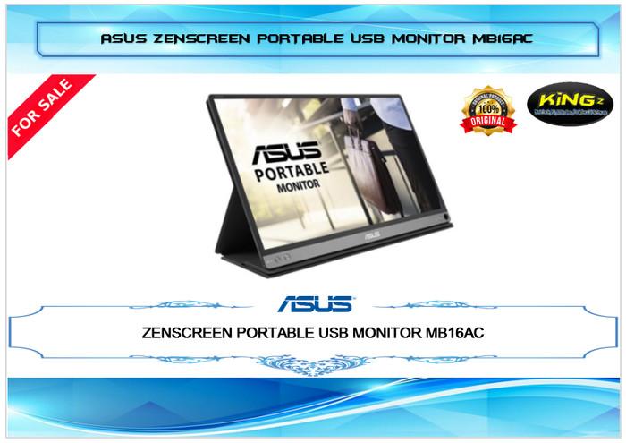 harga Asus zenscreen portable usb monitor mb16ac 15.6 ips fhd Tokopedia.com