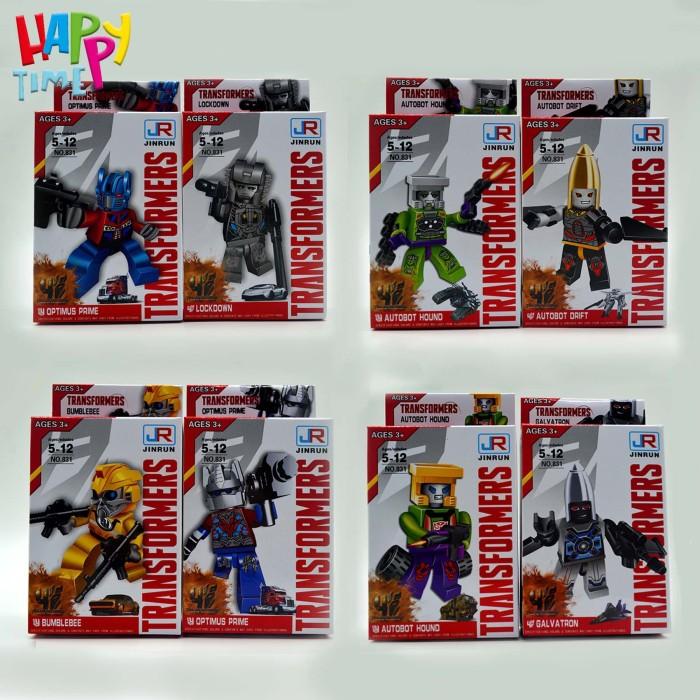 Jual MAINAN LEGO ANAK LEGO TRANSFORMERS LEGO BRICK ANAK LEGO MURAH on