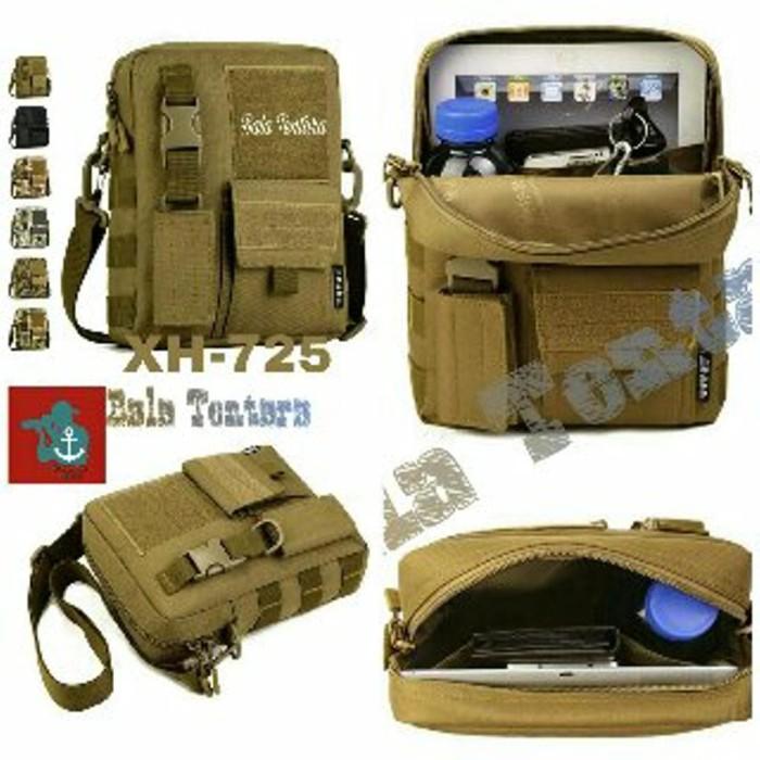 tas selempang pria army import 301 (tas sling, tas tab, Murah