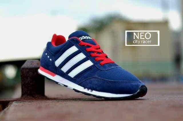 ef14ce3b7b6b Jual Sepatu Kets Adidas Neo City Racer Murah - Etalase Sepatu ...