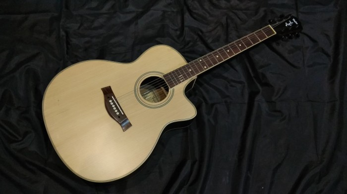 Gitar Akustik Taylor Natural Dove Custom