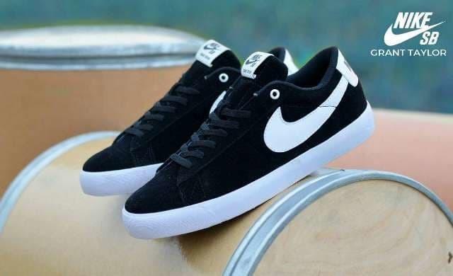 official photos cc551 e3fe3 Jual Sepatu Nike SB Grant Taylor - Hitam - Kota Bandung - DEVEIN | Tokopedia