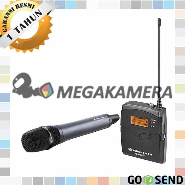 harga Sennheiser ew 135p g3 camera mount wireless microphone system with mic Tokopedia.com