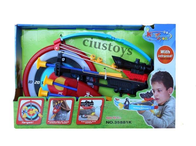harga Crossbow set 35881k - mainan edukasi panah panahan anak Tokopedia.com
