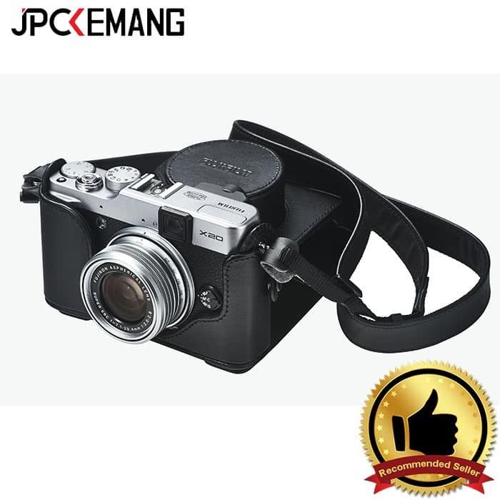 Jual Fujifilm Leather Case Lc-X20 For Fujifilm X20/ X10 Harga Promo Terbaru
