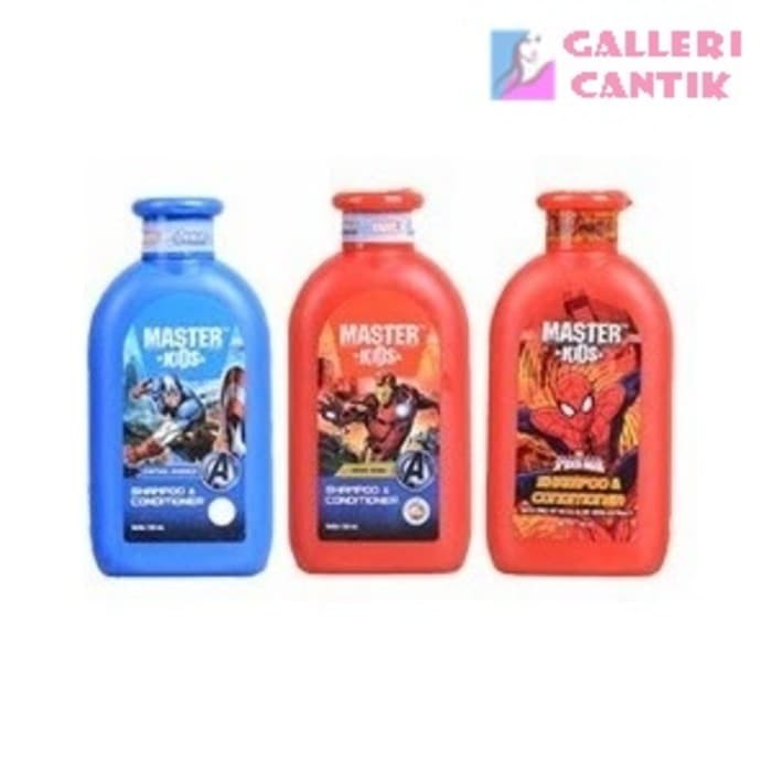 Master Kids Shampoo Conditioner 150ml - captain america