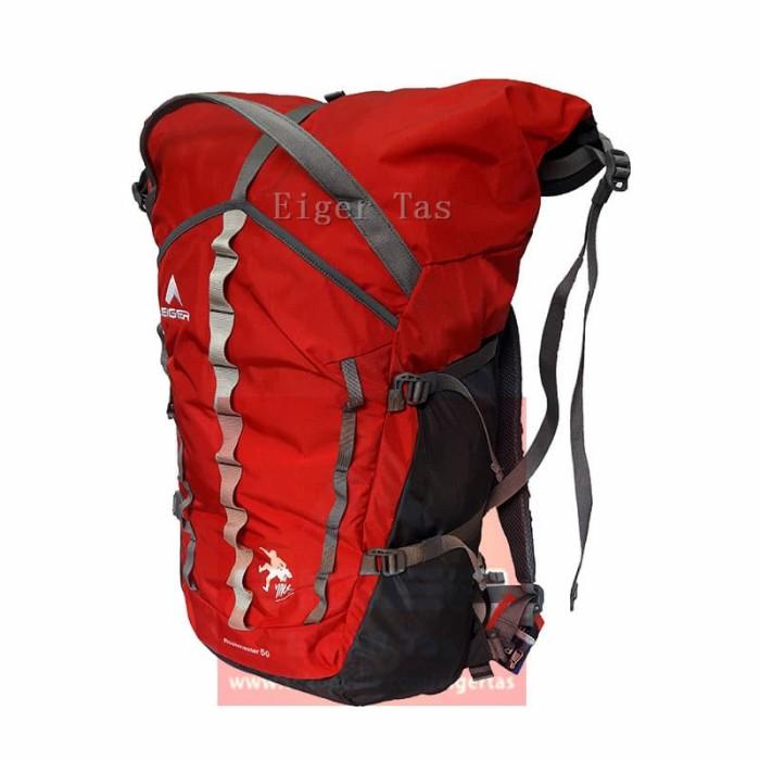 harga Tas eiger 910003340 002 red rockmaster 60l - tas gunung backpack Tokopedia.com