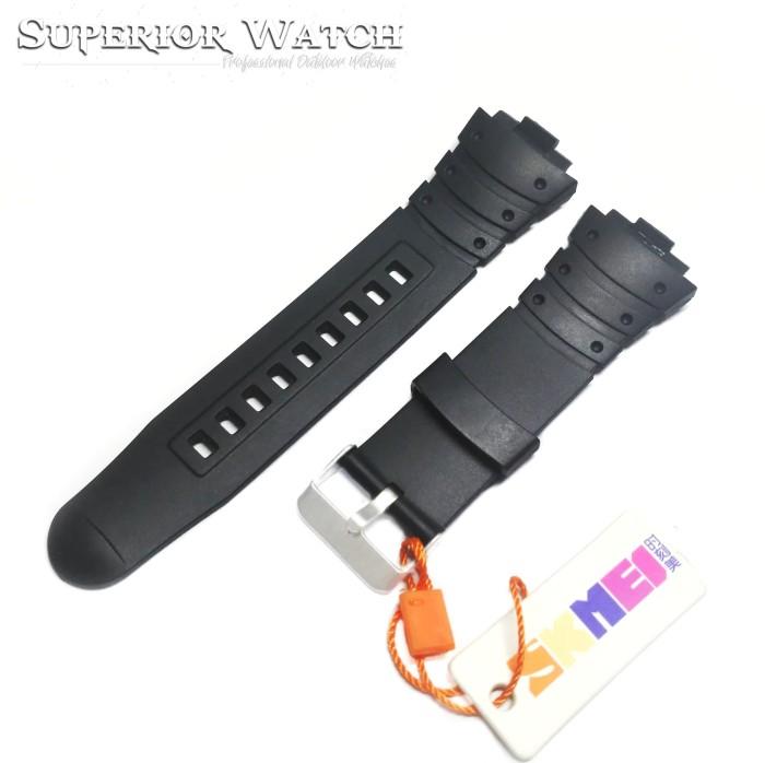 ... harga Tali jam tangan skmei dg 1068 hitam original strap skmei byson 1068 Tokopedia.com