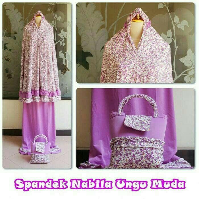 Fashion Muslim Mukena Spandek Brokat Spandek Sutra Daftar Harga Source · Mukena jersey sutra spandek Fashion