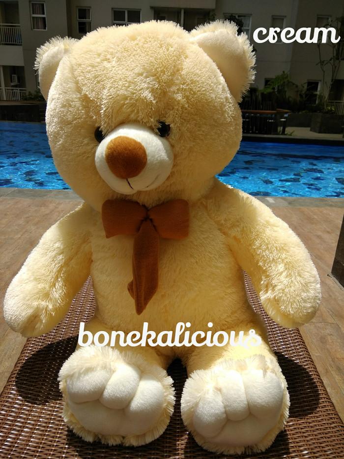harga Boneka beruang teddy bear besar super jumbo 100cm 1m 1meter Tokopedia.com