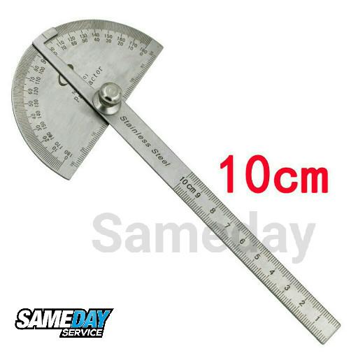 harga Penggaris busur derajat protractor stainless steel Tokopedia.com