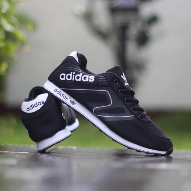 Jual Sepatu Adidas Neo Pria Import Quality warna Merah c71c71293
