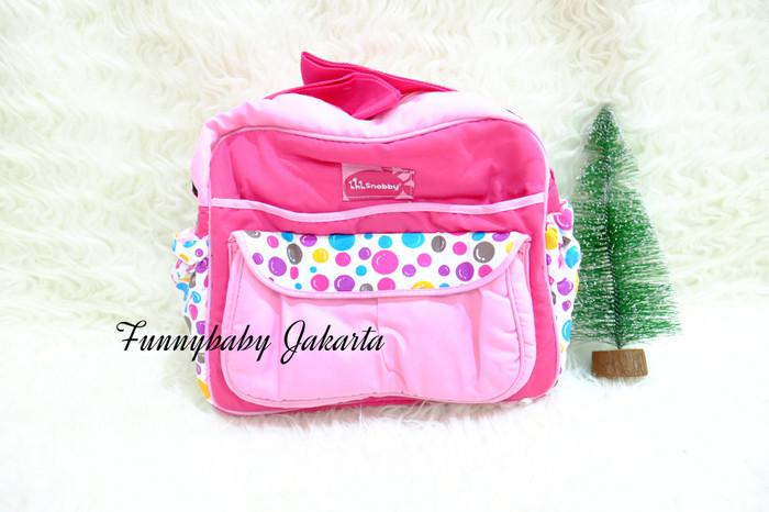 tas snobby happy bubble / tas perlengkapan bayi ukuran medium