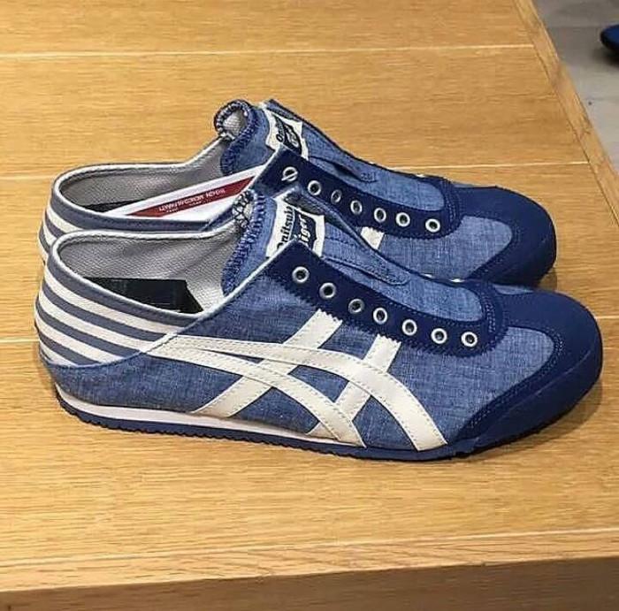 harga Asics onitsuka tiger slip on premium original   sepatu wanita cewek  Tokopedia.com cf106e6033