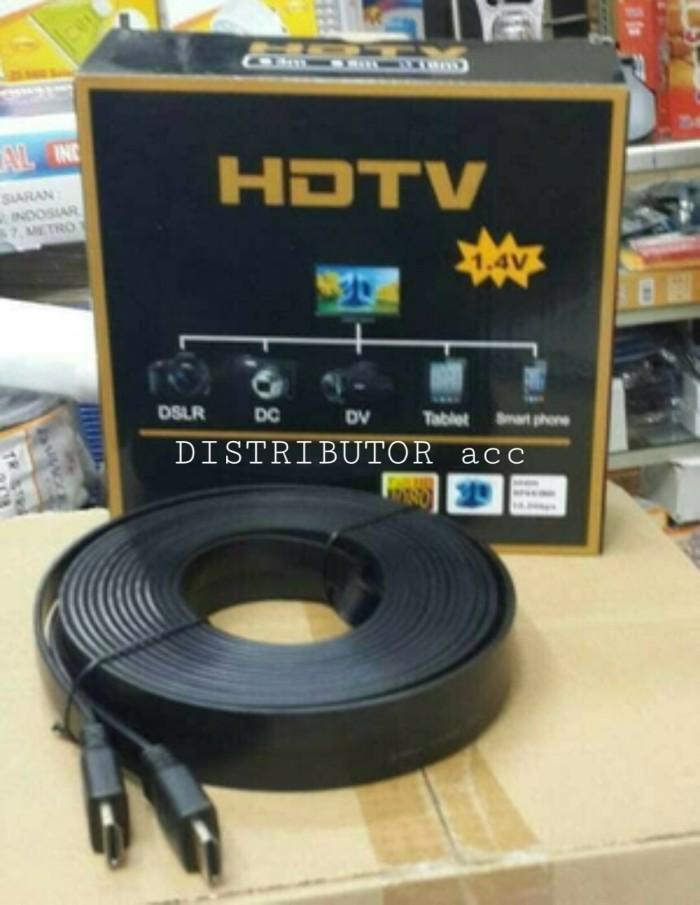 harga Kabel hdmi ke tv led lcd proyektor to full hd 15 m 15m meter 3d flat Tokopedia.com