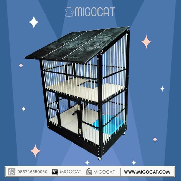 harga Kandang kucing aluminium migocat outdor Tokopedia.com