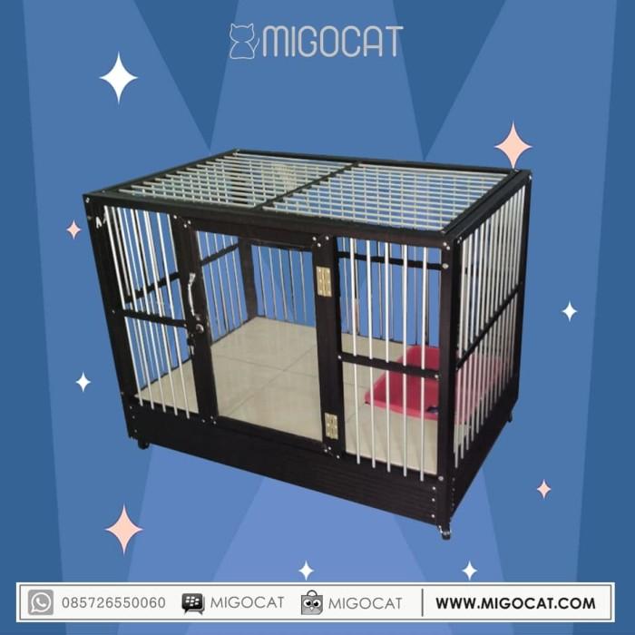 harga Kandang kucing aluminium migocat 1 kamar Tokopedia.com