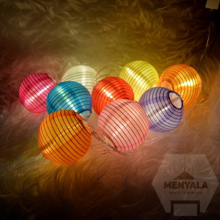 harga Lampu lampion - lantern string light - lampu gantung - lampu tumblr Tokopedia.com