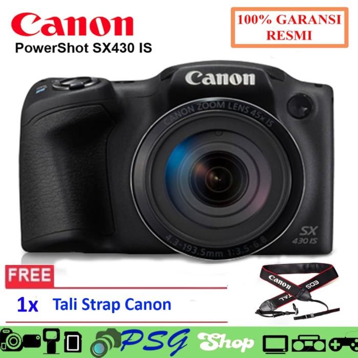 harga Canon powershot sx430 is kamera digital prosumer Tokopedia.com
