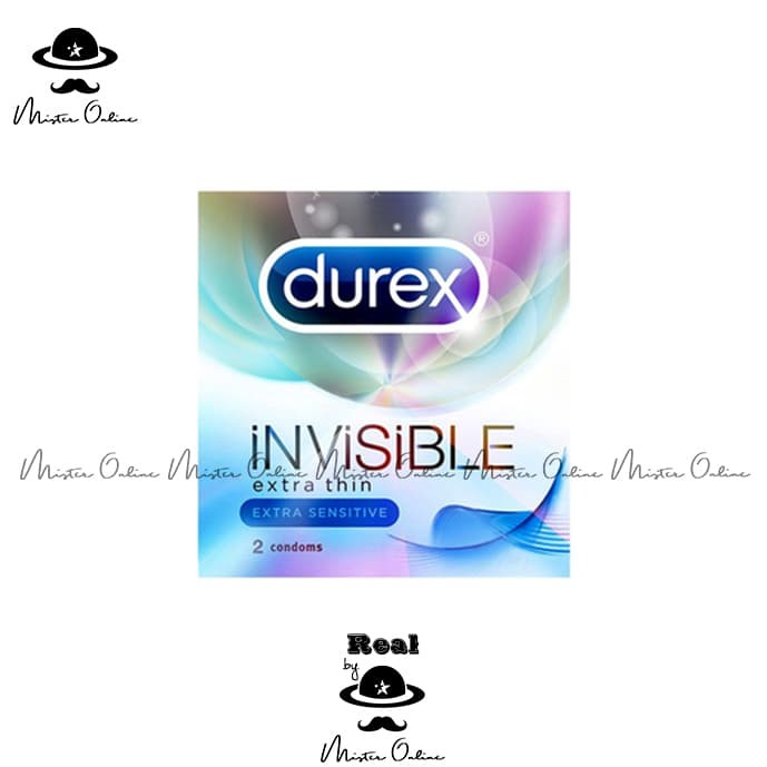 KONDOM DUREX | Invisible - 2 pcs