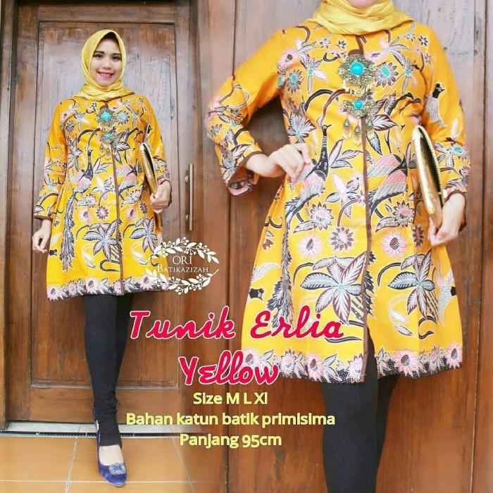 Awesome Model Baju Batik Tunik 2019 Terbaru | Busana Trends