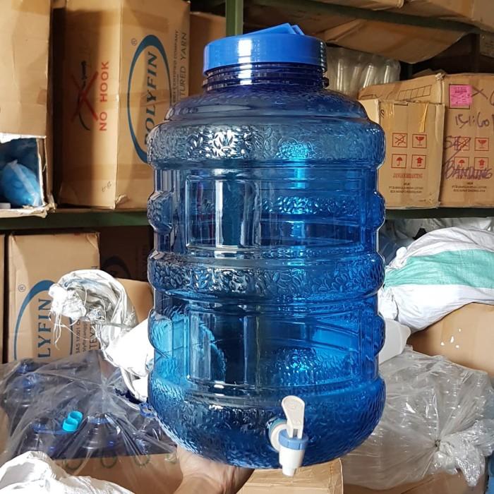 harga Guci air 19 liter bahan plastik pet dengan kran Tokopedia.com