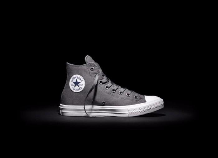 Jual sepatu converse ct 2 all star ox hi grey original BEST MERK ... 6627f5e85b