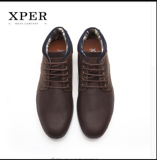 Jual ORIGINAL XPER Brand Genuine Leather Men Boots SEPATU KULIT PRIA ... a32b702e16