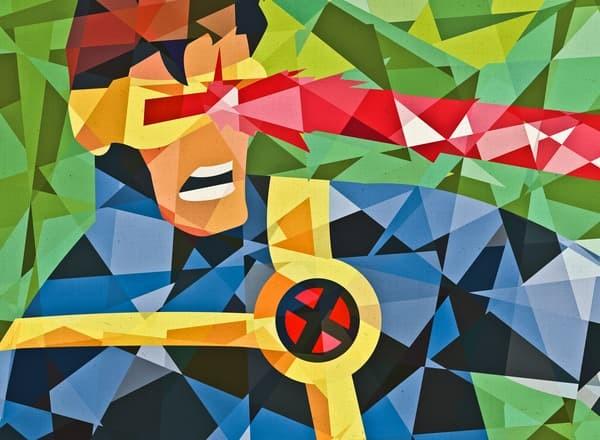 harga Superhero digital art [cyclops-geo] size 40x40cm Tokopedia.com