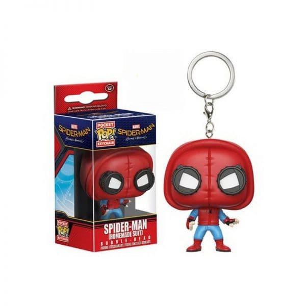 harga Funko keychain spider man homecoming - spider man homemade suit Tokopedia.com