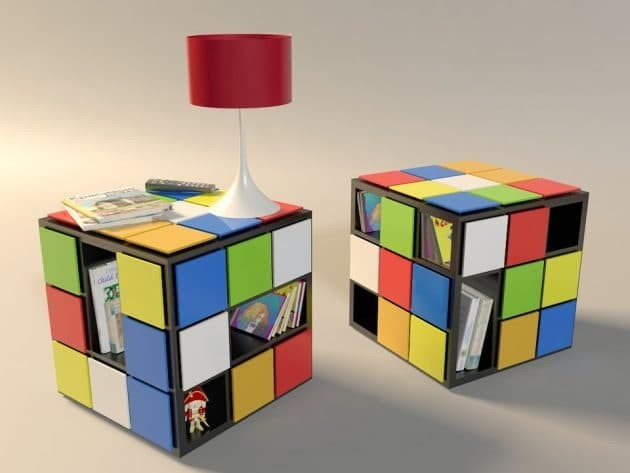 Jual Meja Kayu Rubik Warna Warni Kota Surakarta Suka Kayu Soo