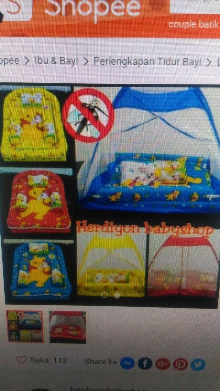 Jual Set Kasur Bayi Tenda Kelambu Bantal Guling Selimut Baju