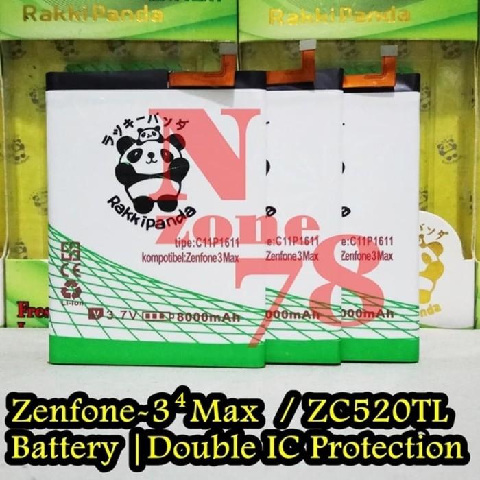 harga Baterai asus zenfone 4 max zc520kl x00hd c11p1611 double ic protection Tokopedia.com
