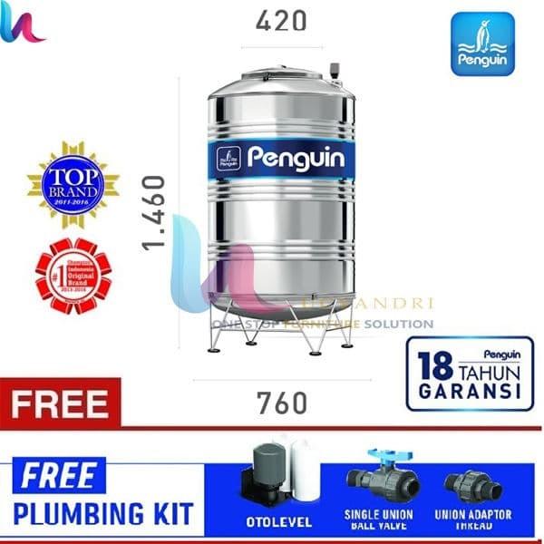 harga Tangki air toren air tandon air penguin stainless steel tbsk 500 Tokopedia.com