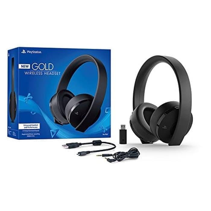 ... harga Ps4 sony gold wireless stereo headset version 2018 Tokopedia.com