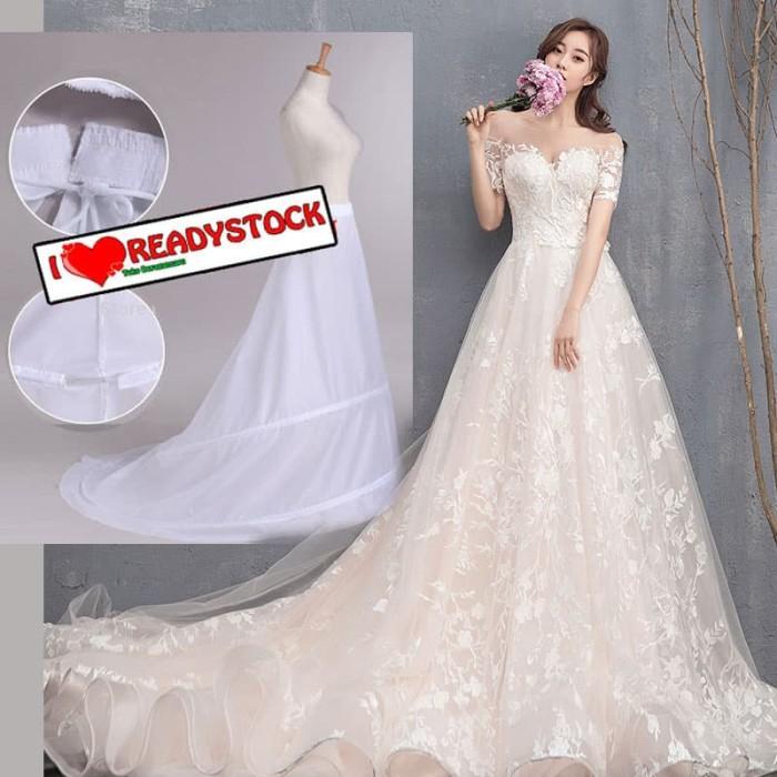 harga Petticoat fish tail / mermaid untuk gaun pengantin rok panjang Tokopedia.com