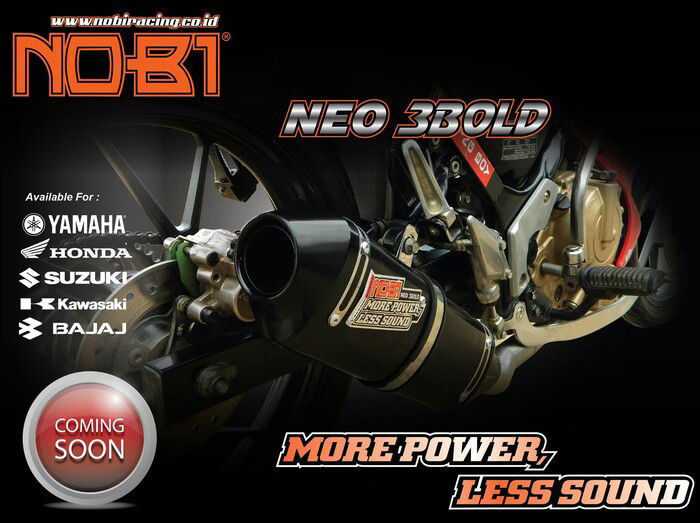 harga Knalpot nobi / nob1 neo 3bold yamaha new jupiter mx 135 cc 5 speed Tokopedia.com