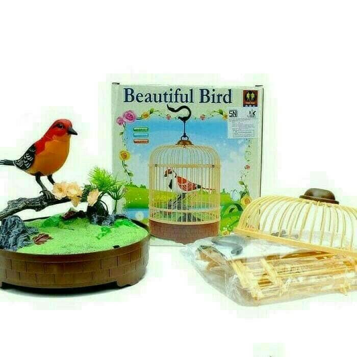 harga Mainan anak burung sangkar beautiful bird Tokopedia.com