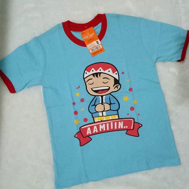 Jual Kaos Little Space Moslem Boy size 8y - DKI Jakarta - The Petos |  Tokopedia