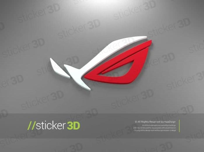 harga Republic of gamers - 3d sticker stiker emblem games gamer Tokopedia.com