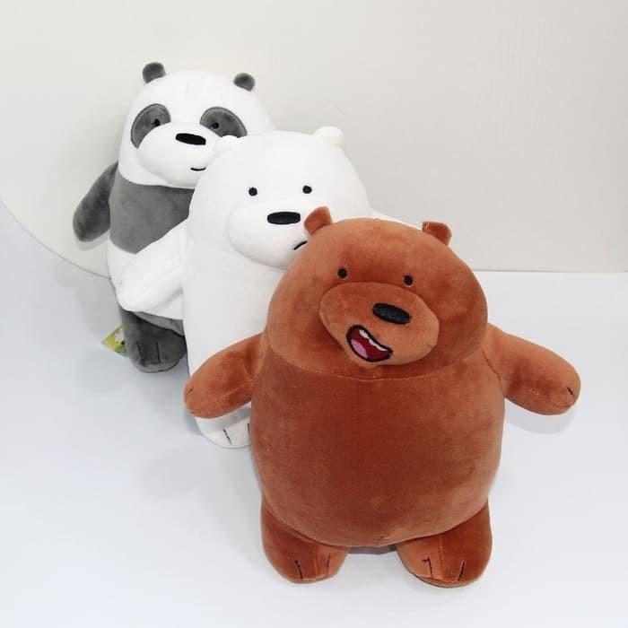 harga Boneka we bare bear boneka grizzly boneka panda boneka ice bear Tokopedia.com