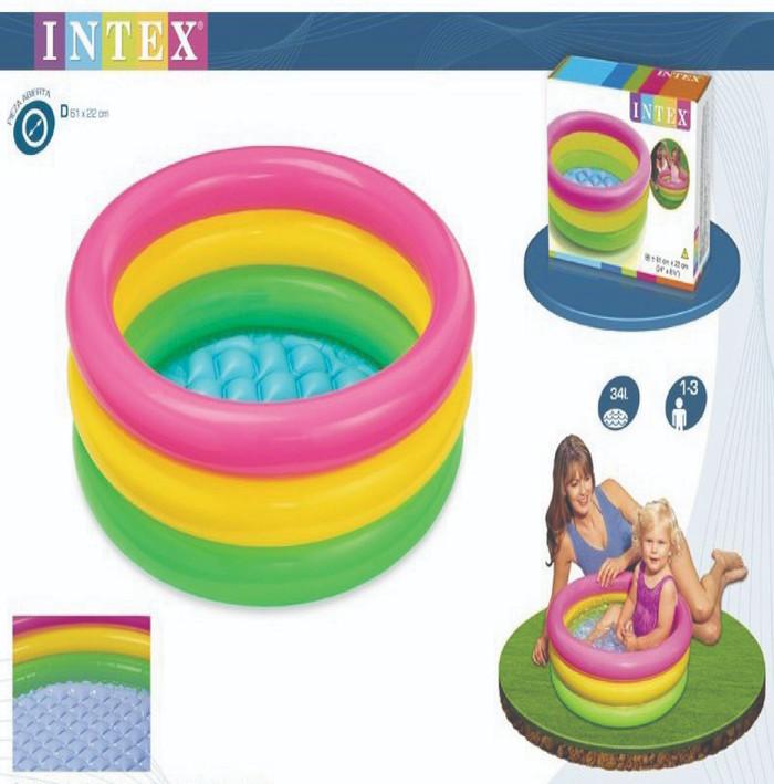 Kolam renang baby pool sunset glow/kolam anak intex 57402/kolam karet