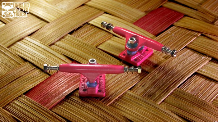 Steep Hill Fingerboard O-ring 32mm Trucks Hardware,Tool 2 Stickers Pink